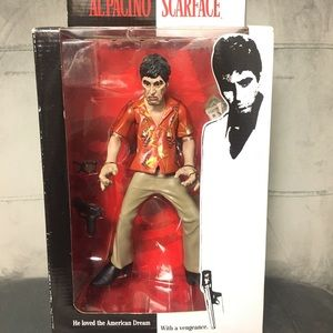 """2004 Scarface 10"""" action figure"""
